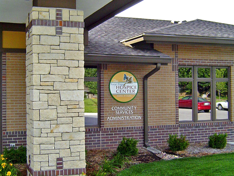 Hospice Entry Signage