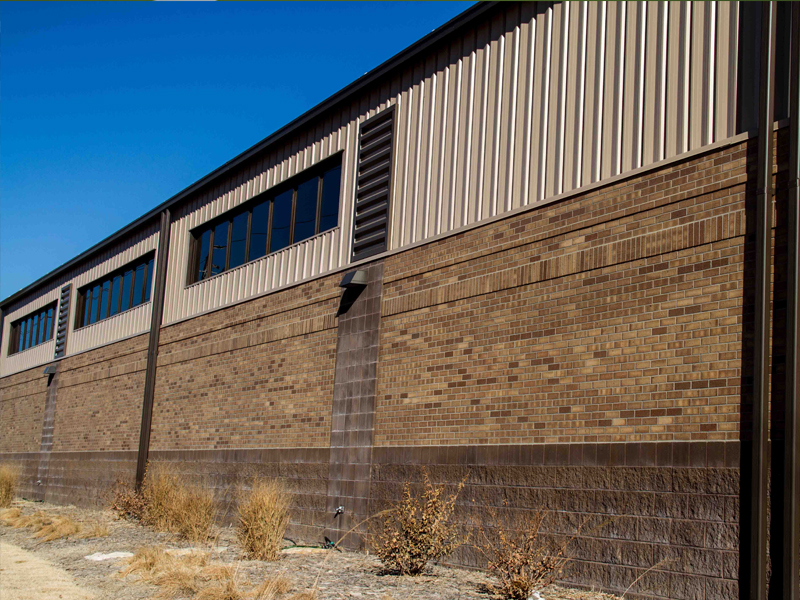 USD 305 Operations Building Exterior 1